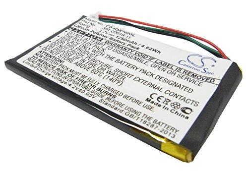 TECHTEK batería sustituye 361-00019-11, para 361-00019-40 Compatible con [Garmin] Nuvi 3590, Nuvi 3590LMT, Nuvi 700 (3 Wires), Nuvi 710, Nuvi 710T, Nuvi 760, Nuvi 760T, Nuvi 765, Nuvi 765T
