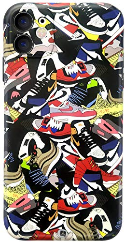 iPhone 11 case for Basketball Shoes, Hypebeast Jordan Basketball Slim Soft Flexible TPU Cover with Full HD+ Graphics for iPhone 11(6.1) (Sneaker Colorways, iPhone 11)