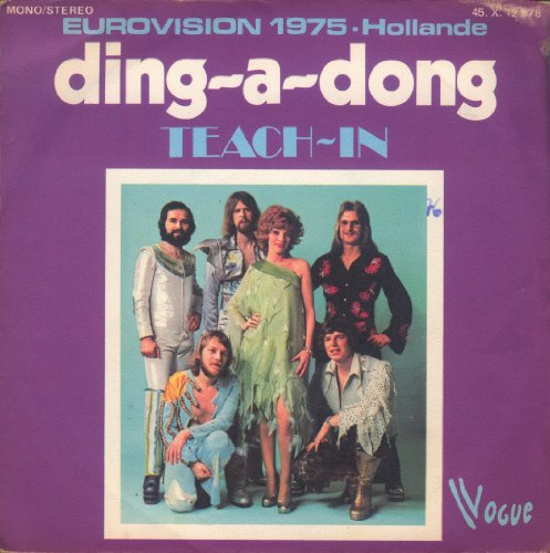 Ding-a-dong (Eurovision 1975 - Hollande) / Let Me In [45T/7