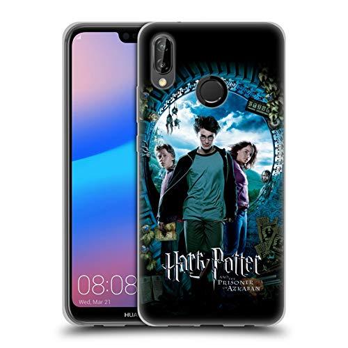 Officiel Harry Potter Ron, Harry & Hermione Poster Prisoner of Azkaban IV Coque en Gel Doux Compatible avec Huawei P20 Lite