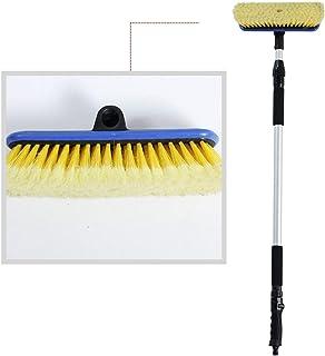 Fantasyworld OY-TS01 de Coches del veh/ículo telesc/ópico Mango de Cepillo de Lavar Extensible Cepillo de Limpieza