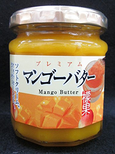 健康応援ショップ 信州物産 マンゴーバター200g