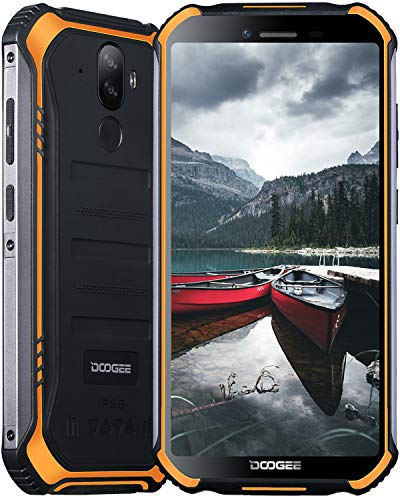 "DOOGEE S40 PRO (2020) Smartphone Rugged, Dual 4G IP68 Cellulare Antiurto Android 10,4GB + 64GB, Schermo 5.45 ""HD+,..."