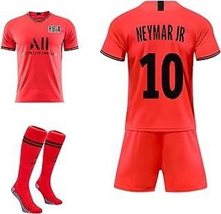 echtes Trikot tolle Materialien GSPURS Paris FC Kinder Jugend Neymar JR 10# Mbappe 7# Fu/ßball Uniformen und Shorts