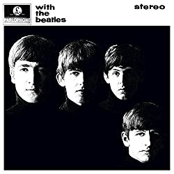 With The Beatles Album Cover