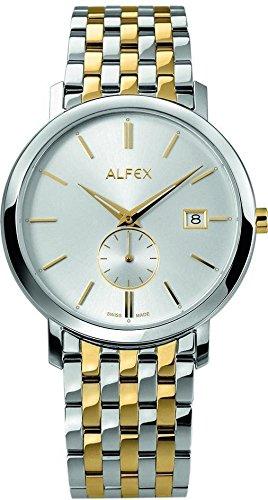 Herren Alfex Uhr Stahl und Beschichtung 5703/041
