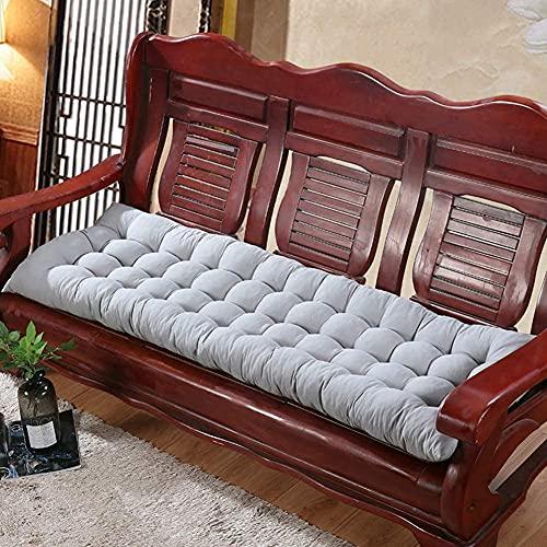 CIN&GO Cuscino per Panca da Esterno Cuscino da Giardino Spesso Cuscino per Sedia a 2 o 3 posti Cuscino per Sedia a Dondolo Rettangolare Sedia a Dondolo per Patio da Giardino Cuscino per Divano