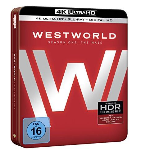 Westworld Staffel 1: Das Labyrinth als limitierte Sammleredition (4K Ultra HD + Blu-ray + Digital HD, Limited Edition) [Blu-ray]