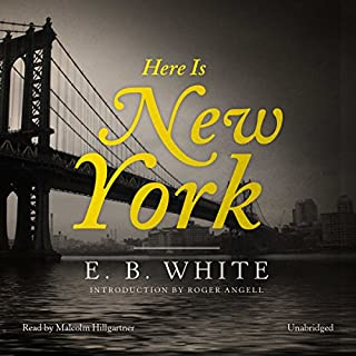 Here Is New York audiobook cover art