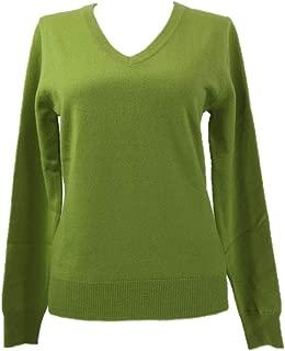 Womens V Neck Cashmere Sweater