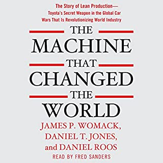The Machine That Changed the World audiobook cover art