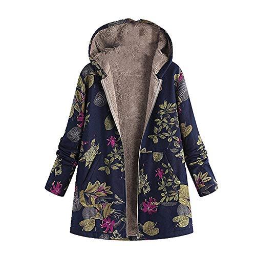 N\P Chaqueta de invierno para mujer con capucha gruesa cálida chaqueta de abrigo para mujer