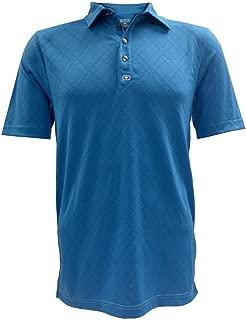 Men's Golf Fly-Wheel Polo, Moisture Wicking Shirt 1402