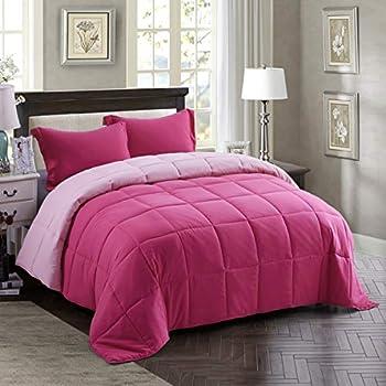 Best pink comforter sets full Reviews