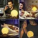 Zoom IMG-2 lampada luna 3d stampata 16