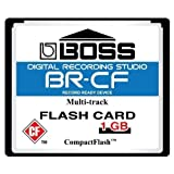 1GB Boss Roland BR-CF CompactFlash CF Memory Card for BR-600, BR-864, BR-900CD, MC-808 [並行輸入品]