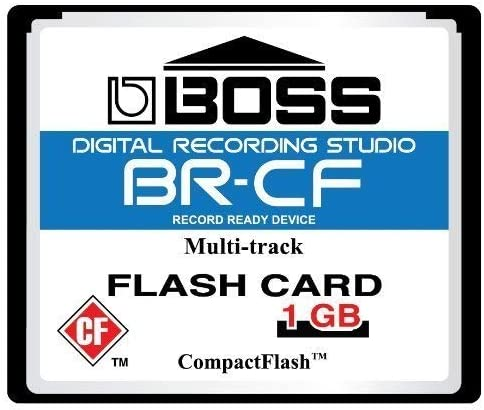1GB Boss Roland BR-CF CompactFlash CF Memory Card for BR-600, BR-864, BR-900CD, MC-808