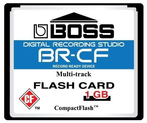 1GB Boss Roland BRCF CompactFlash CF Memory Card for BR600 BR864 BR900CD MC808