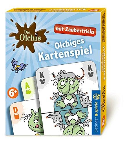 Oetinger Friedrich GmbH Die Olchis Kartenspiel mit Zaubertricks