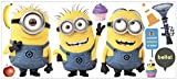 'Despicable Me 2' Movie Minions Giant Wall Decals