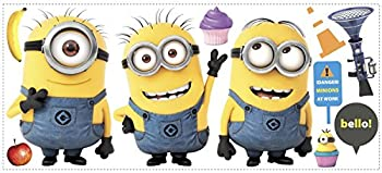 Despicable Me 2  Movie Minions Giant Wall Decals