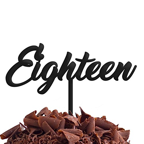 Dix-huit 18 de gâteau fête d'anniversaire .b. rapide et gratuit Royaume-Uni Livraison