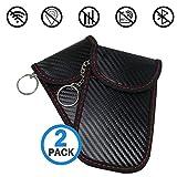 Faraday Case Bag for Key Fob   Car Key Signal Blocking Pouch Bag   Vehicle Keyless Entry RFID Blocking Bag for...