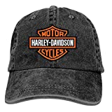 ETXHU - Gorra de béisbol - para hombre Harley Davidson Motor Cycles logo t 4 Taille unique