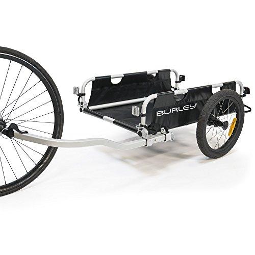 Burley Flatbed Fahrradlastenanhänger, schwarz, Einheitsgröße