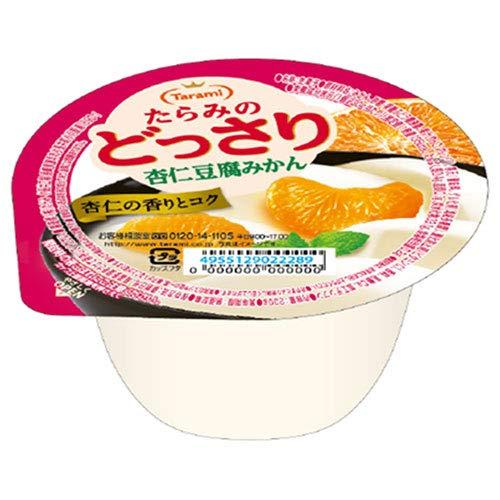 たらみ たらみのどっさり 杏仁豆腐みかん 230g×24(6×4)個入×(2ケース)