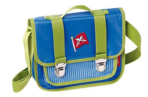 sigikid, Jungen, Kindergartentasche Pirat, Sammy Samoa, Blau/Grün, 24005