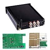 JCCOZ -URG TDA7498E 160W+160W DC 12-24V Bluetooth 4.0 CSR Digital Audio Amplificador Board Con Carcasa URG