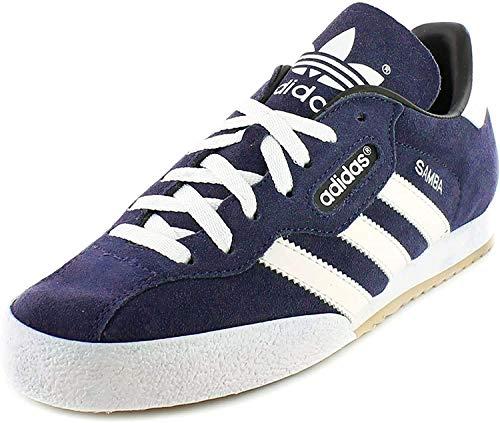 Adidas Samba Suede Hombre Zapatos de Cordones (42 EU, Azul)