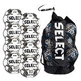 SELECT Numero 10 Soccer Ball, 8-Ball Team Pack, White/Black/Gold, Size 5