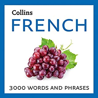 Learn French: 3000 Essential Words and Phrases                   By:                                                                                                                                 Collins Dictionaries                               Narrated by:                                                                                                                                 Daniel Richards,                                                                                        Michel Rousseau,                                                                                        Erwan Trematerra                      Length: 7 hrs and 52 mins     Not rated yet     Overall 0.0