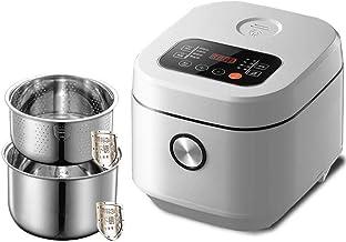 Programmeerbare rijstkoker Slow Cooker Steam Yogurt Maker Lage Verwijdering Sugar Stoofpot met 24 uur vertraging timer en ...