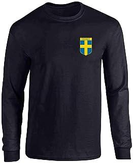 Sweden Soccer Retro National Team Long Sleeve T-Shirt