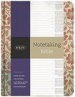 The NKJV Notetaking Bible: New King James Version, Red Floral