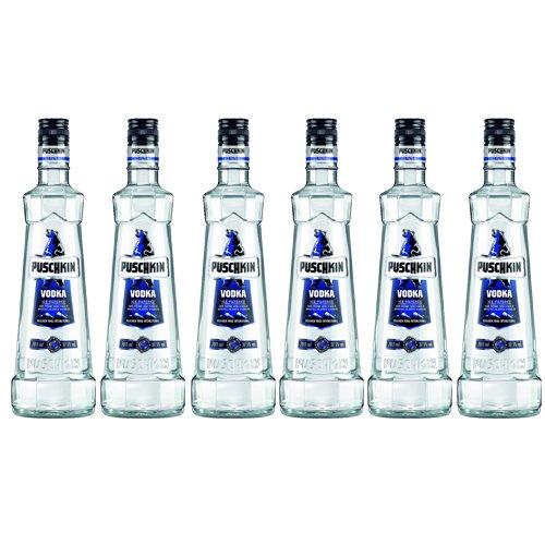Puschkin Vodka 37,5% (6 Flaschen á 700ml)