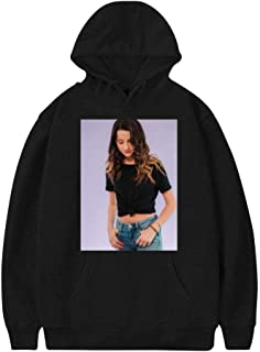 Annie_Leblanc Wawo Fashion Adult Cotton Material Hoodie Sweat Shirt for Women