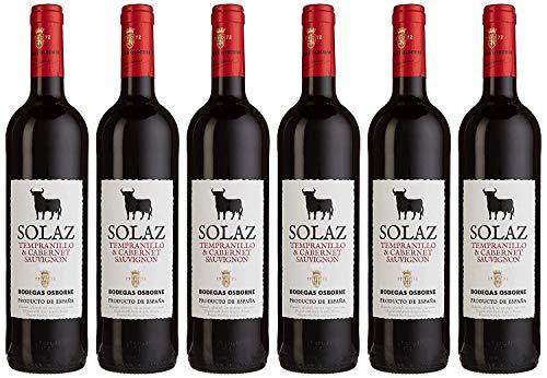 Osborne Solaz TempranilloCabernet Sauvignon Trocken (6 x 0.75 l)