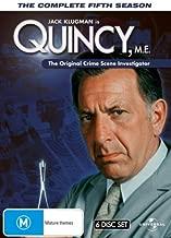 Quincy M.E. (Complete Season 5) - 6-DVD Box Set ( Quincy ME - Complete Fifth Season ) ( Quincy M E - Complete Season Five ) [ NON-USA FORMAT, PAL, Reg.0 Import - Australia ]