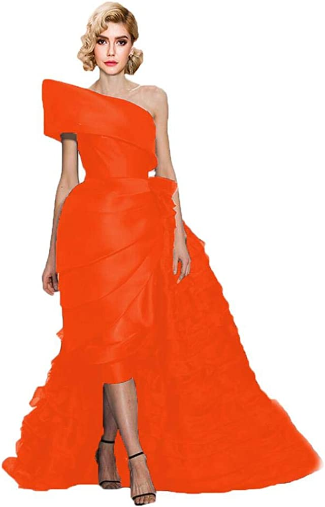 BanZhang 情熱セール Women's Evening Dress For Party Gown 高品質 Long On Hi-Lo Ball