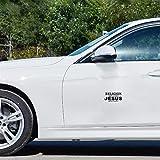 adesivi auto sport 12.7cmx6.5cm religione imposta regole gesù imposta decalcomanie autoadesivo moto auto gratis per adesivo finestra del computer portatile auto