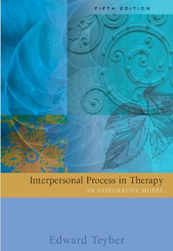 Download Interpersonal Process In Therapy: An Integrative Model 0534515649