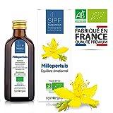 Millepertuis bio français Solution buvable de plantes fraîches Origine France certifiée Certifié AB