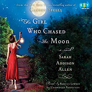 The Girl Who Chased the Moon     A Novel              By:                                                                                                                                 Sarah Addison Allen                               Narrated by:                                                                                                                                 Rebecca Lowman                      Length: 7 hrs and 2 mins     917 ratings     Overall 4.3