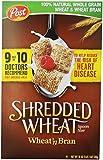 Post, Shredded Wheat, Wheat & Bran Cereal, 18 oz
