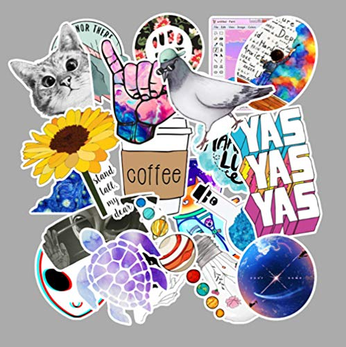 103 Stukken Van Mode Landelijke Zomer Licht Galaxy Meisje Pvc Sticker Speelgoed Decoratie Auto Laptop Pad Mobiele Telefoon Stoel Gitaar Fiets Motor