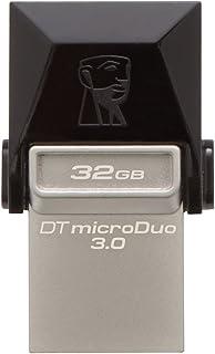 كينجستون – ذاكرة فلاش 32 جيجا – مايكرو يو اس بي 3.0 - (DTDUO3/16GB) 32 GB